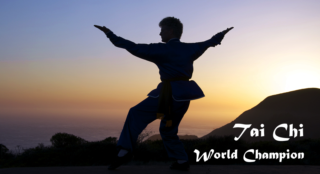 Tai Chi Class at Strawberry Recreation Center, Mill Valley CA
