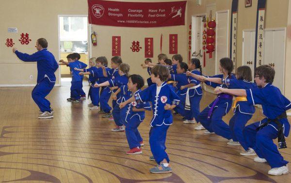 Kung Fu Children's Martial Arts Classes
