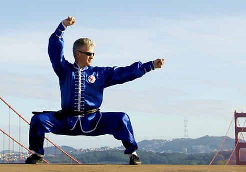 Northern Shaolin Kung Fu Master Scott Jensen of 10000 Victories Kung Fu