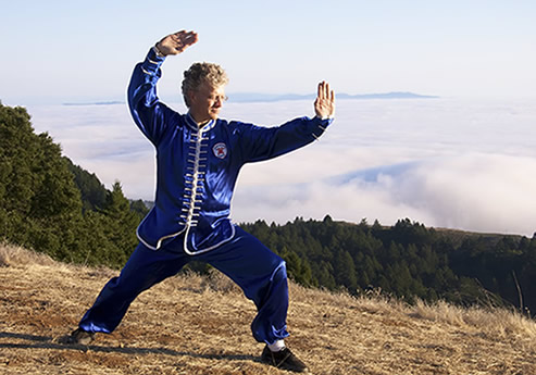 Tai Chi is healing your Qi and Blood.