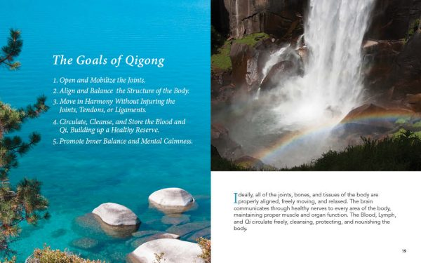 Qigong for Health Sample Pages showing the Goals of Qigong