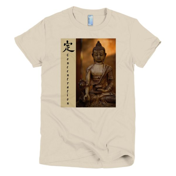 Concentration,Samadhi, or Ding, womens t-shirt
