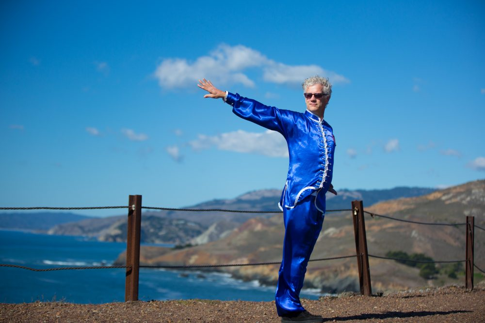 Breathing in Tai Chi and Kung Fu by Sifu Jensen Performs Qigong