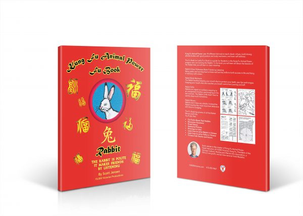 Front and Back cover of the Rabbit Fu Book