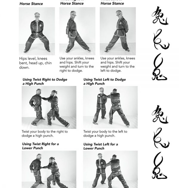 A sample of the Dodging Drills Illustrated with Clear Photos