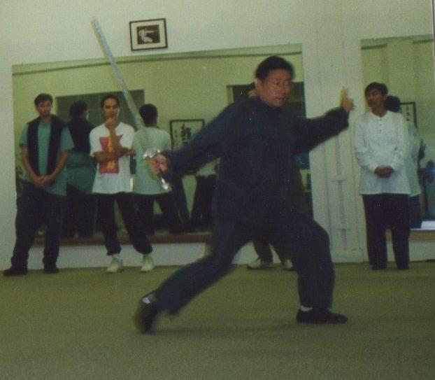 Chen Style Tai Chi Chuan Grandmaster Chen Xiao Wang demonstrates Chen Style Tai Chi Jian at my school