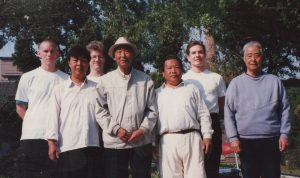Liu Wan Fu Lan Shou Quan Study Group in Tianjin, China in 1997