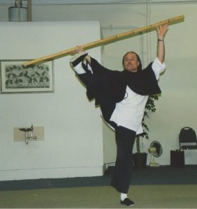 Peter Ralston performs Northern Shaolin Earth Dragon Staff
