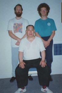 Ba Gua Zhang Master Zhang Hua Sen with Scott Jensen 1996