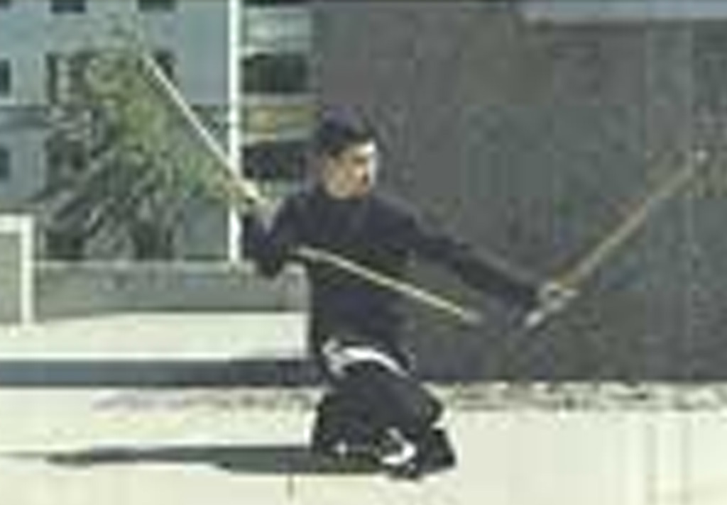 Wong Jackman Northern Shaolin Three Section Staff
