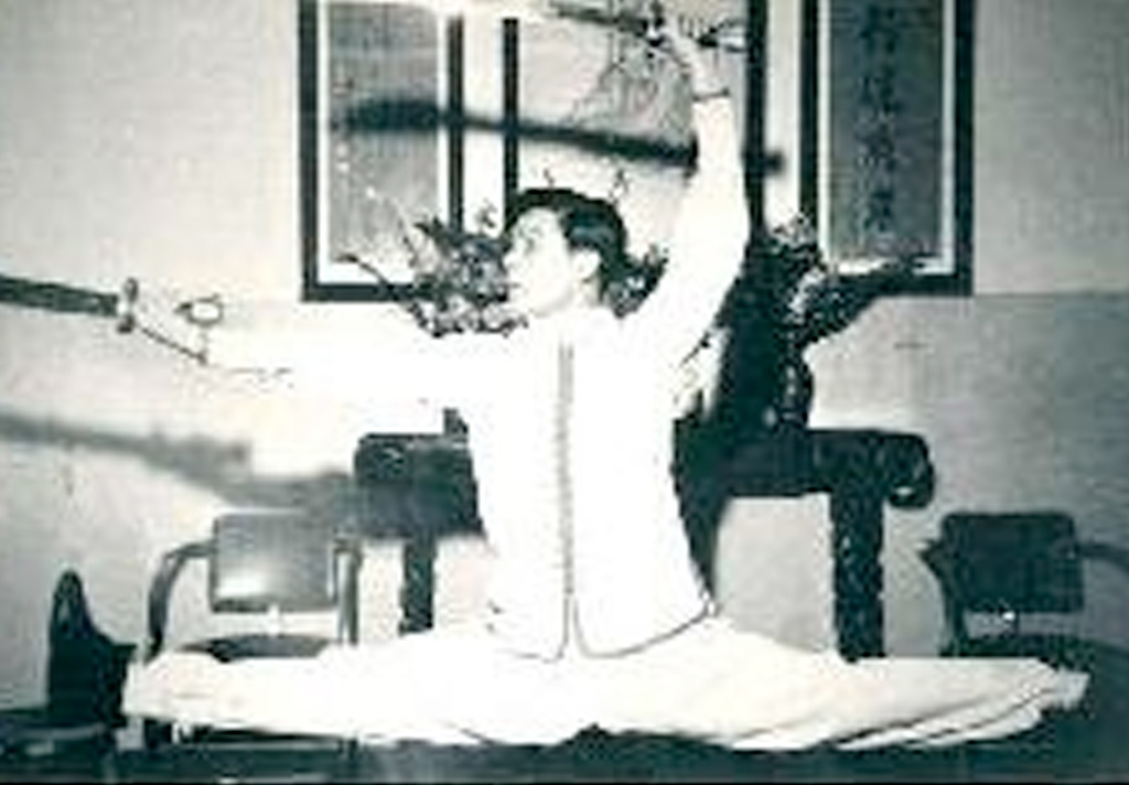 Northern Shaolin Grand Master Wong Jackman shows Northern Shaolin