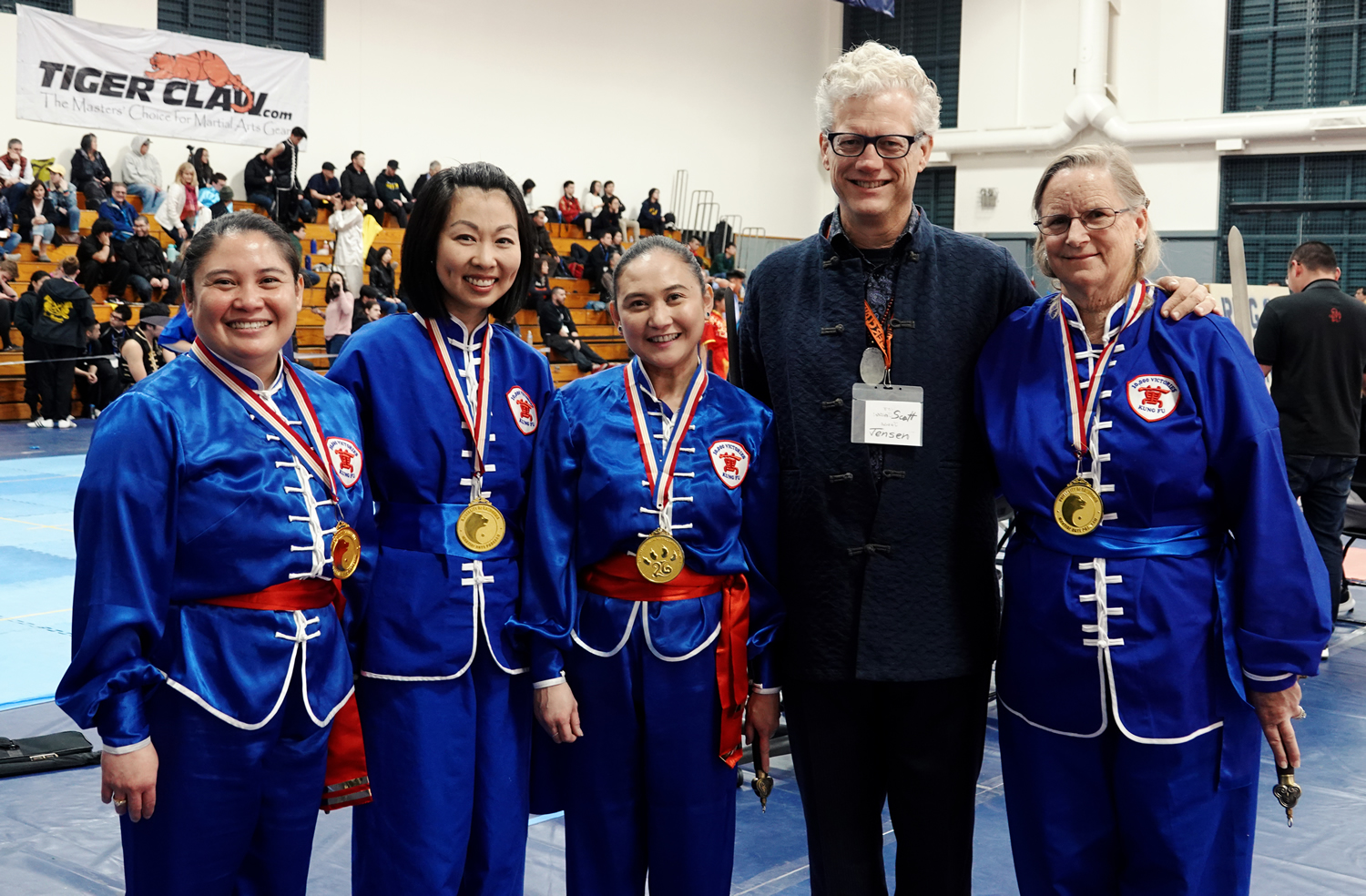 Part of our Cahmpionship womens tai chi team with Sifu Jensen