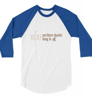 Northern Shaolin Kung Fu 3/4 sleeve shirt