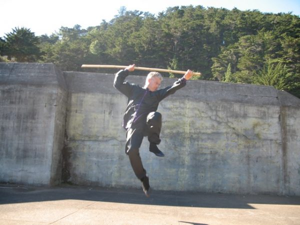Scott Jensen performs Earth Dragon Staff from Northern Shaolin