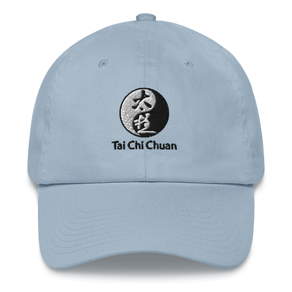 Tai Chi Chuan Sky Blue Dad Hat