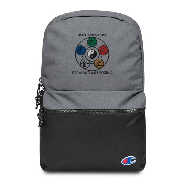 Xing Yi Five Elements Backpack of Holding.