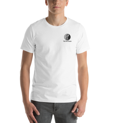 Tai Chi Chuan Embroidered White T-Shirt