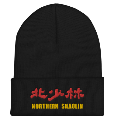 Northern Shaolin Red Gold Beanie
