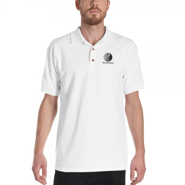 white tai chi shirt