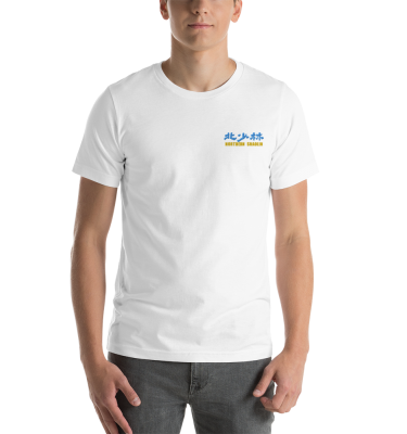 Northern Shaolin Blue and Gold T-Shirt