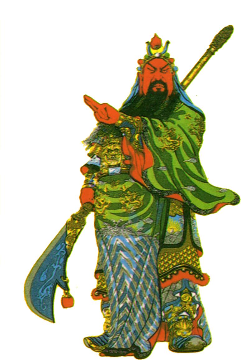 "Guan Gong's ""Awakening Sutra"" teaches Wu De"