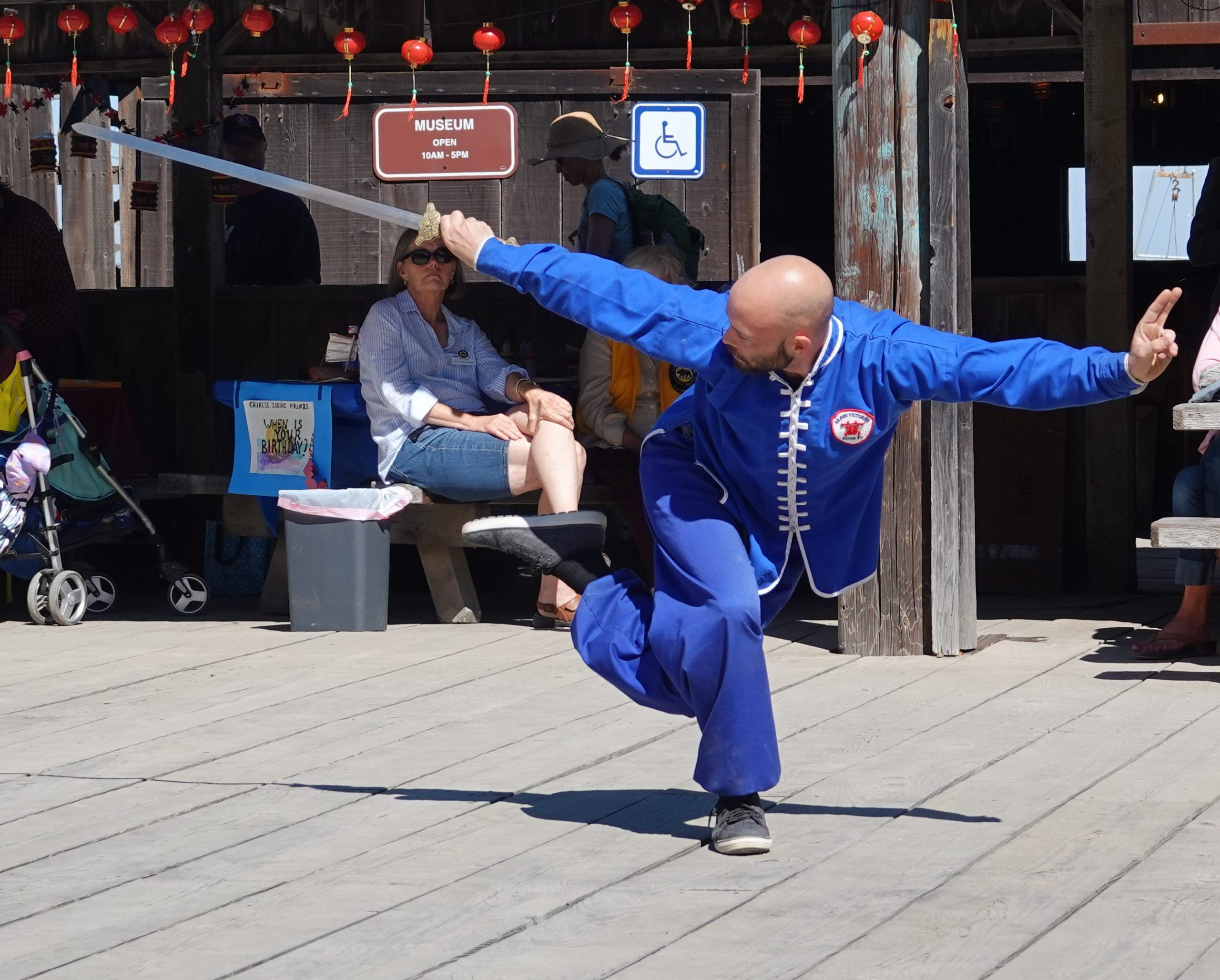 Joseph Vigneri performs the magnificent Kung Fu form known as Chun Yang Sword.