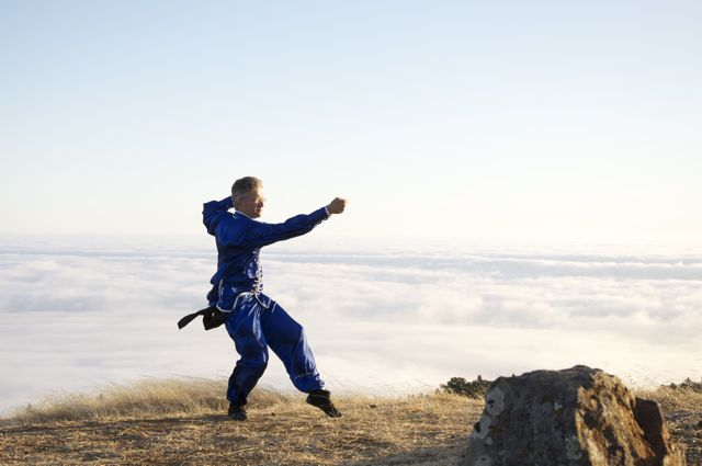 Kung Fu Training prevents stagnant blood