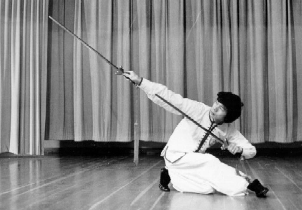 Wong Jackman Double Jian or Swords