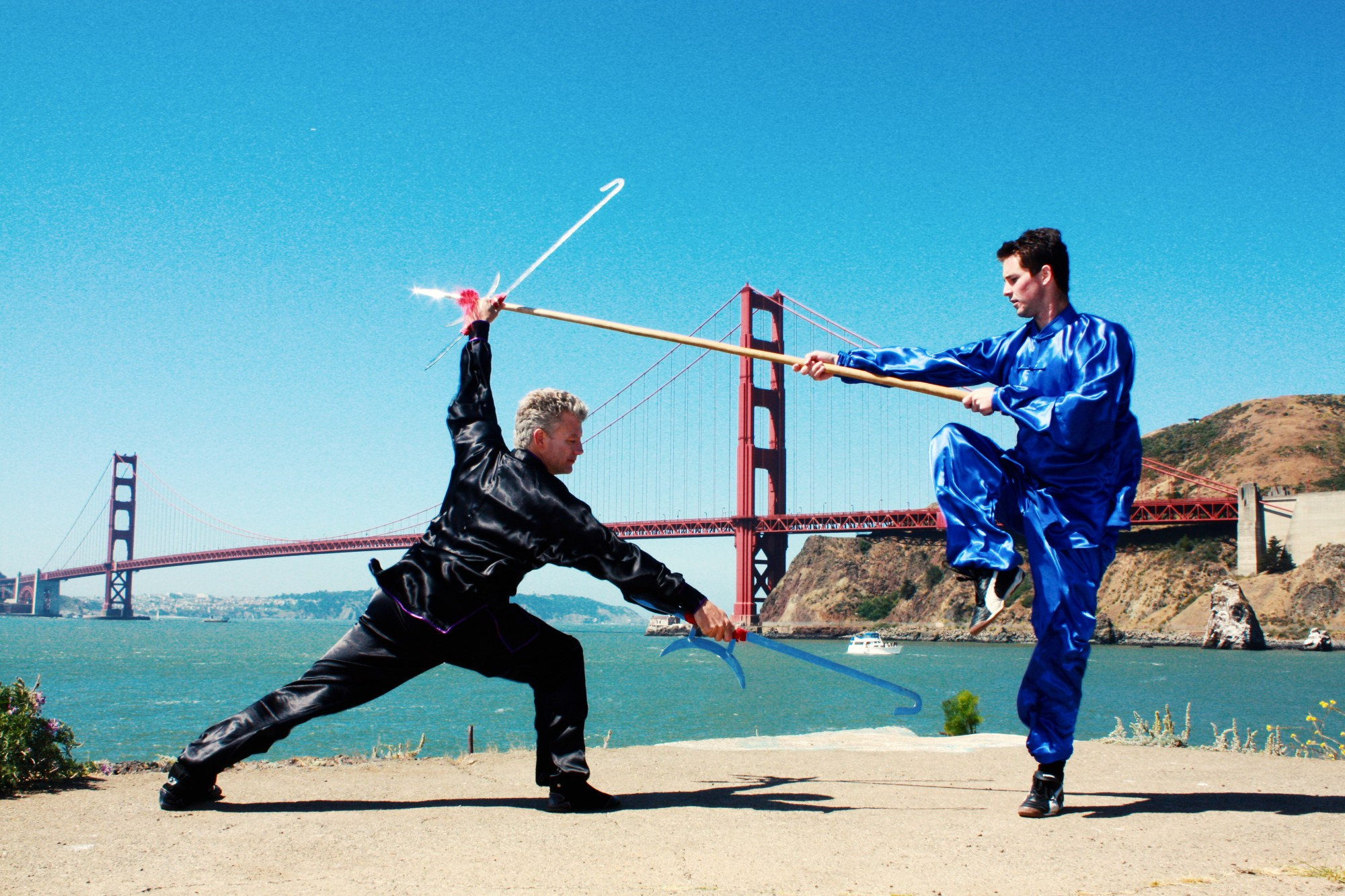 Youth Kung Fu Weapons Camp
